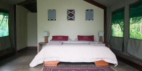 Rwanda - Akagera National Park - Ruzizi Tented Lodge - Room
