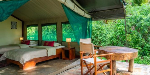 Rwanda - Akagera National Park - Ruzizi Tented Lodge - Tent