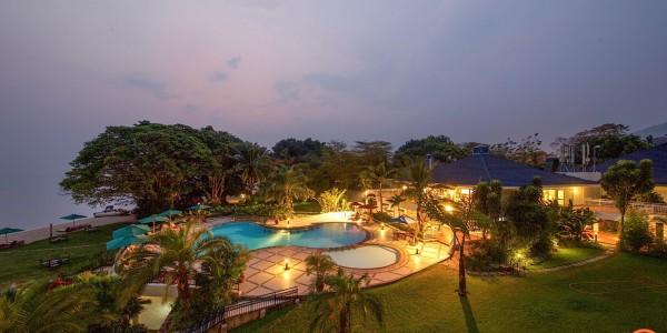 Rwanda - Lake Kivu - Lake Kivu Serena Hotel - Overview