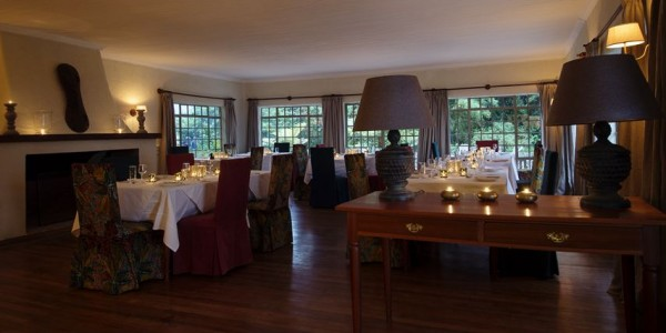 Rwanda - Parc National des Volcans - Sabyinyo Silverback Lodge - Restaurant