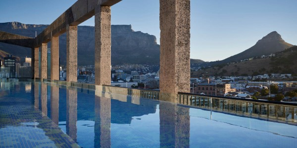 South Africa - Cape Town - The Silo - Pool