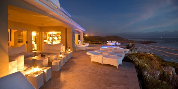 South Africa - Hermanus & the Overberg - Birkenhead House - Terrace