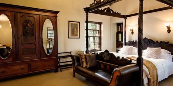 South Africa - Hermanus & the Overberg - Schoone Oordt Country House - Honeymoon Suite