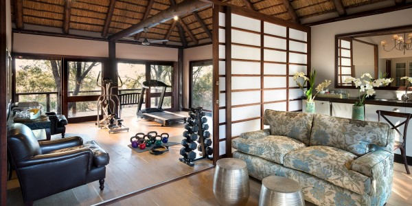South Africa - Kruger National Park & Private Game Reserves - andBeyond Ngala Safari Lodge - Gym