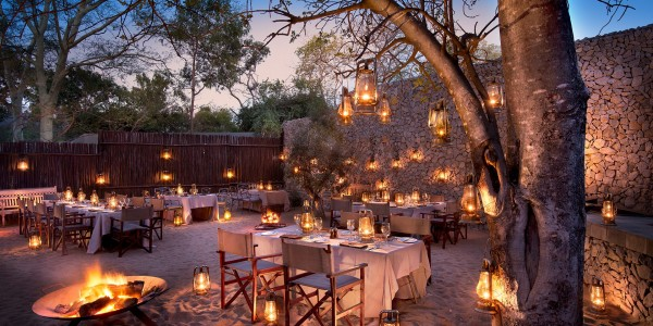 South Africa - Kruger National Park & Private Game Reserves - andBeyond Ngala Safari Lodge - Restaurant