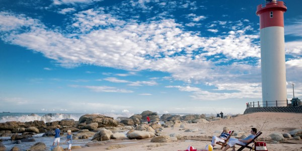 South Africa - Kwazulu Natal - The Oyster Box Hotel - Beach