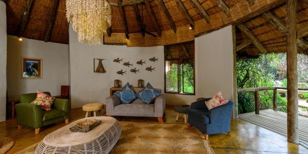 South Africa - Kwazulu Natal - Thonga Beach Lodge - Main Lounge