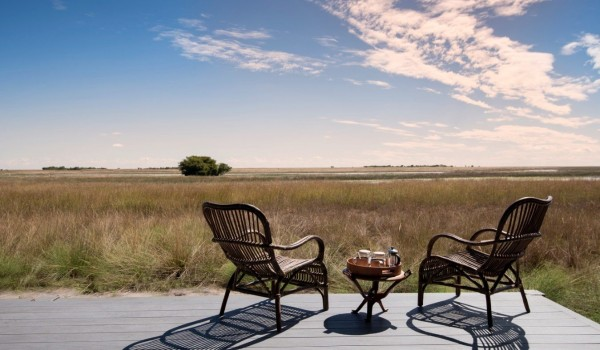 Zambia - Liuwa Plains National Park - King Lewanika Lodge - View