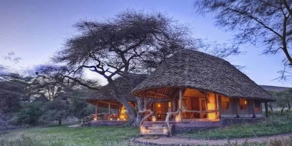 Kenya - Amboseli - Tortilis Camp - Family Tent