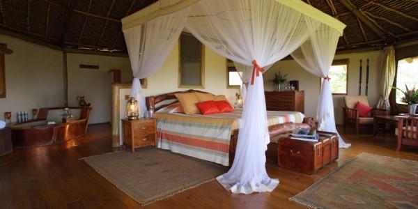 Kenya - Amboseli - Tortilis Camp - Private House