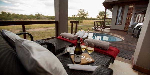South Africa - Madikwe Game Reserve - Jamala Madikwe - Terrace