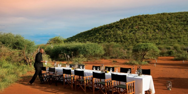 South Africa - Madikwe Game Reserve - Madikwe Safari Lodge - Dining