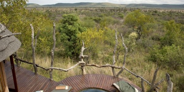 South Africa - Madikwe Game Reserve - Madikwe Safari Lodge - Plunge Pool