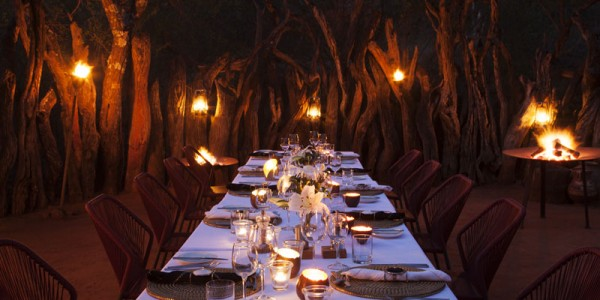South Africa - Madikwe Game Reserve - Molori Safari Lodge - Boma Dinner