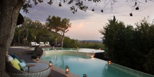 South Africa - Madikwe Game Reserve - Molori Safari Lodge - Main Lodge Pool