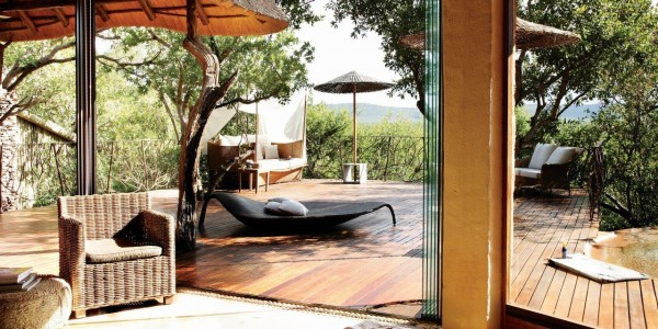 South Africa - Madikwe Game Reserve - Molori Safari Lodge - Ngwedi Suite