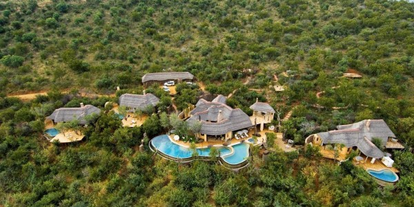 South Africa - Madikwe Game Reserve - Molori Safari Lodge - Overview
