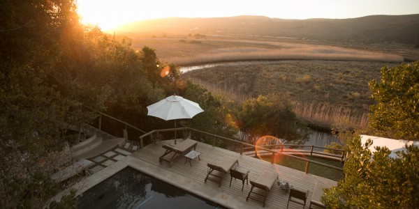 South Africa - The Garden Route - Emily Moon River Lodge - Pool
