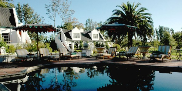 South Africa - The Garden Route - Kurland Hotel - Pool 2