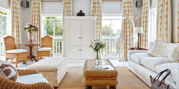 South Africa - The Garden Route - The Plettenberg Hotel - Beach House Lounge