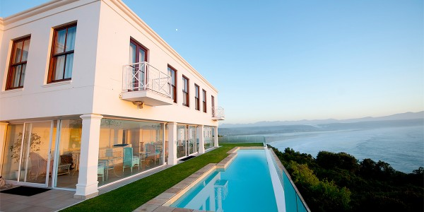 South Africa - The Garden Route - The Plettenberg Hotel - Blue Wing Pool