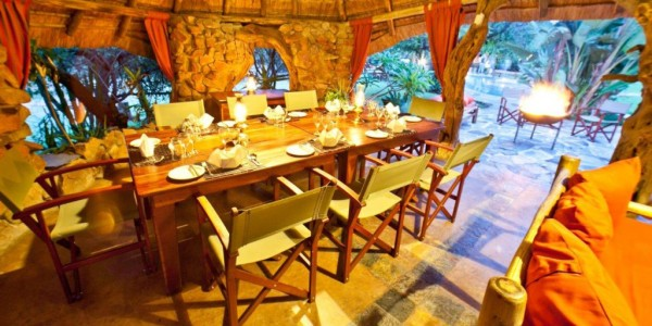 South Africa - Waterberg - Ant's Nest - Dining Area