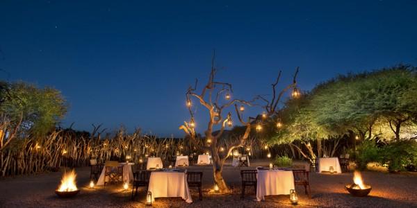 South Africa - Waterberg - Marataba Safari Lodge - Boma Dinner