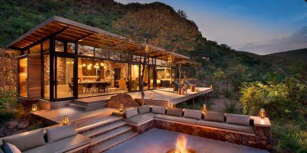 South Africa - Waterberg - Marataba Safari Lodge - Deck