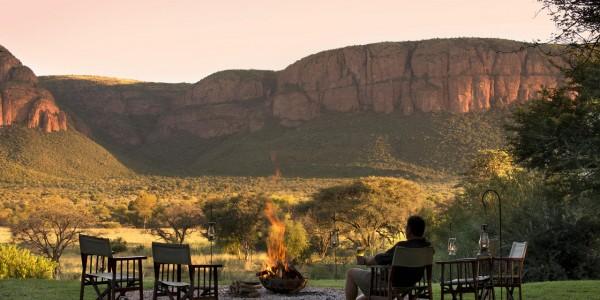 South Africa - Waterberg - Marataba Safari Lodge - Firepit