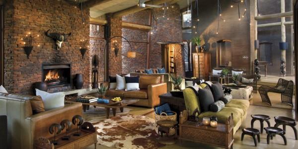 South Africa - Waterberg - Marataba Safari Lodge - Lounge