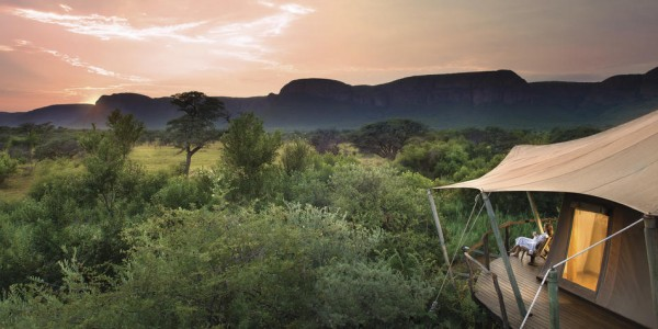 South Africa - Waterberg - Marataba Safari Lodge - Tent