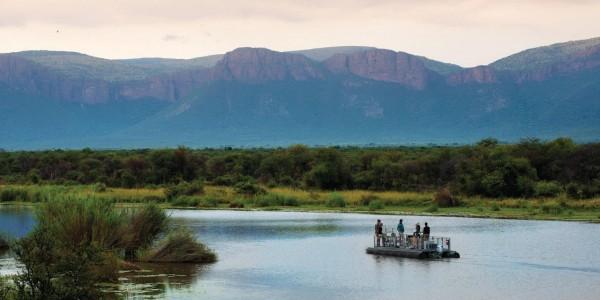 South Africa - Waterberg - Marataba Safari Lodge - Water Safari