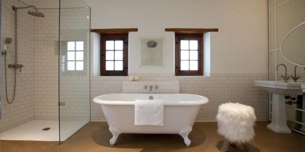 South Africa - Winelands - Babylonstoren - Cottage Bathroom