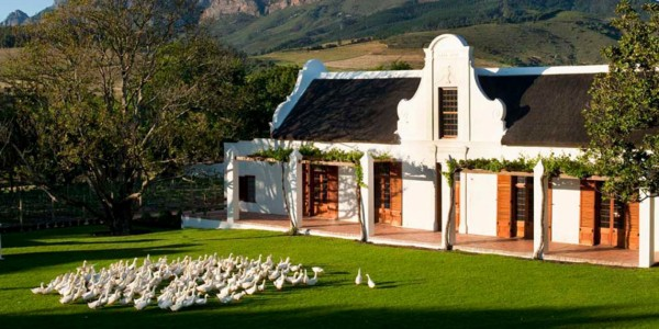South Africa - Winelands - Babylonstoren - Overview