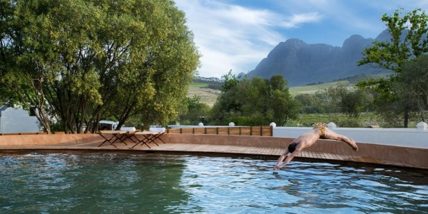 South Africa - Winelands - Babylonstoren - Pool