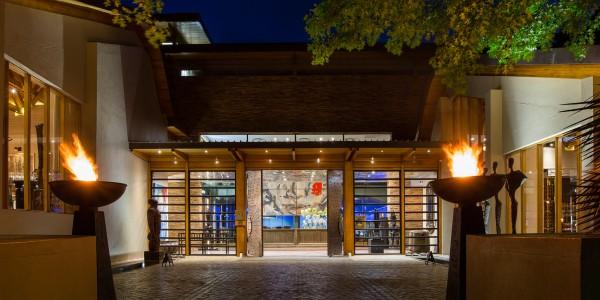South Africa - Winelands - Delaire Graff Estate - Entrance