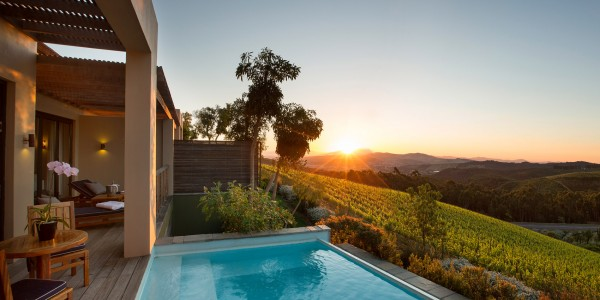 South Africa - Winelands - Delaire Graff Estate - Lodges and Spa