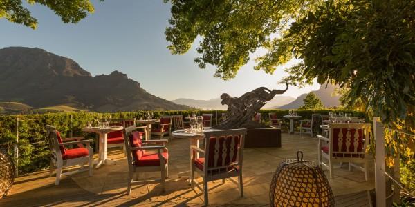 South Africa - Winelands - Delaire Graff Estate - Restaurant