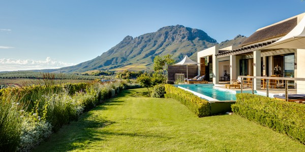 South Africa - Winelands - Delaire Graff Estate - The Owner's Lodge