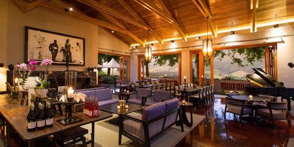 South Africa - Winelands - Delaire Graff Estate - Wine Lounge