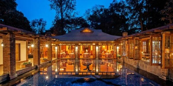 Tanzania - Arusha - Arusha Coffee Lodge - Restaurant Exterior