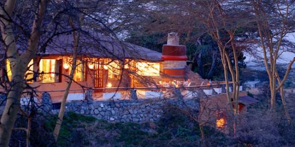 Tanzania - Arusha - Hatari Lodge - Outside