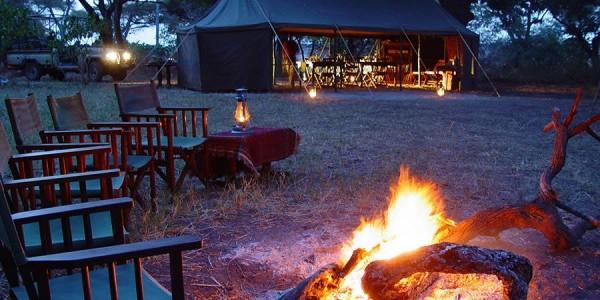 Tanzania - Katavi National Park - Chada Katavi - Fireplace