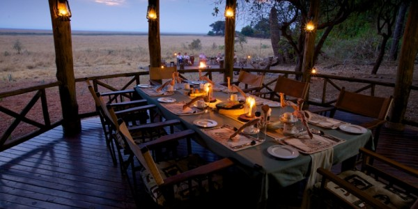 Tanzania - Katavi National Park - Katavi Wildlife Camp - Dining