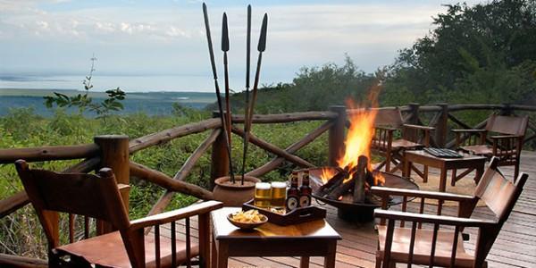 Tanzania - Lake Manyara National Park - Kirurumu Manyara Lodge - Bar view