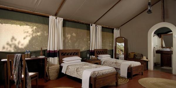 Tanzania - Lake Manyara National Park - Kirurumu Manyara Lodge - Twin Room