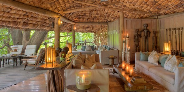 Tanzania - Lake Manyara National Park - andBeyond Lake Manyara Tree Lodge - Guest Area