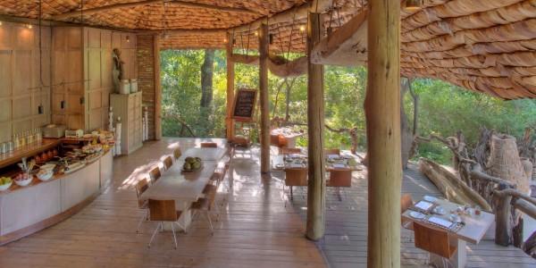Tanzania - Lake Manyara National Park - andBeyond Lake Manyara Tree Lodge - Kitchen