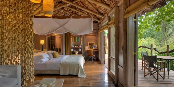 Tanzania - Lake Manyara National Park - andBeyond Lake Manyara Tree Lodge - Stilted Treehouse Suites