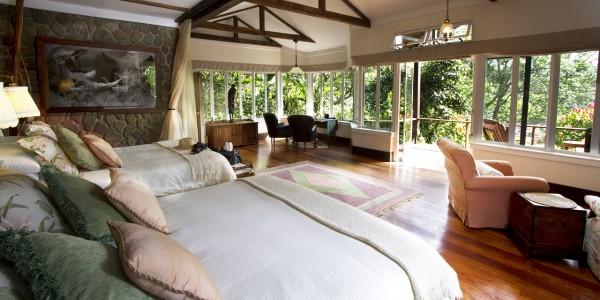 Tanzania - Ngorongoro Crater - Gibbs Farm - Bedroom